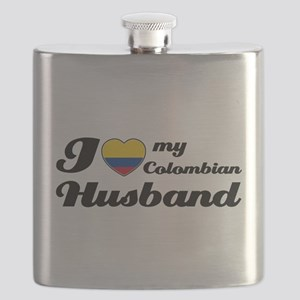 Colombian husband design Flask