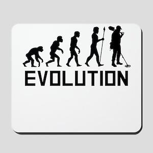 Metal Detecting Evolution Mousepad