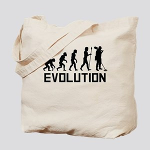 Metal Detecting Evolution Tote Bag