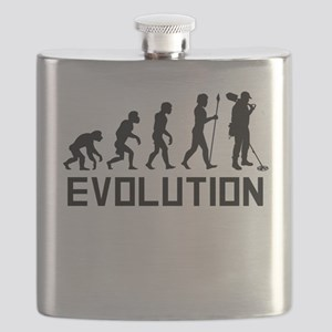 Metal Detecting Evolution Flask