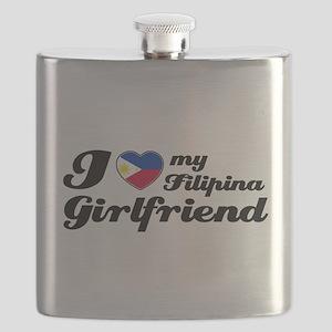 I love my Filipina Girfriend Flask
