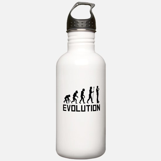 Standup Comedian Evolution Water Bottle