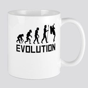 Trumpet Player Evolution Mugs