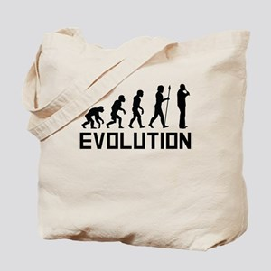 Recorder Player Evolution Tote Bag