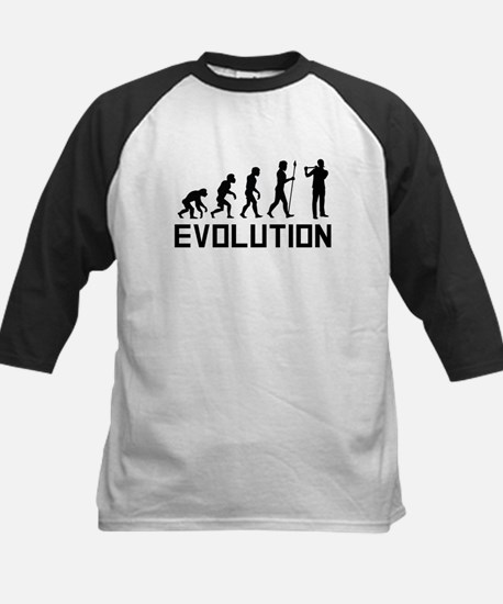 Flautist Evolution Baseball Jersey