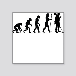Metal Detecting Evolution Sticker