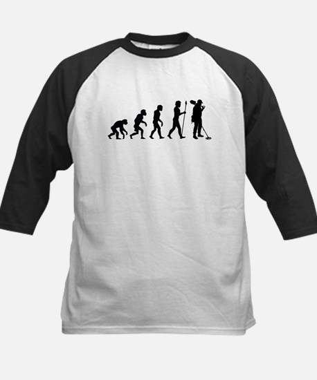 Metal Detecting Evolution Baseball Jersey