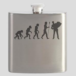 Accordion Player Evolution Flask
