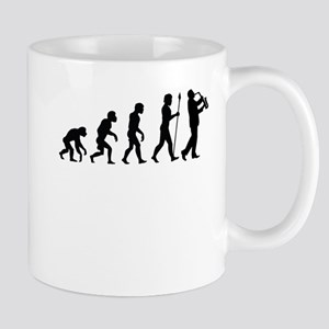 Saxophone Player Evolution Mugs