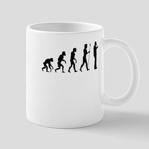 Recorder Player Evolution Mugs