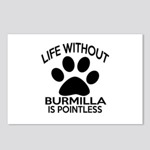 Life Without Burmilla Cat Postcards (Package of 8)