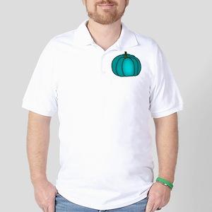 Teal Pumpkin Golf Shirt