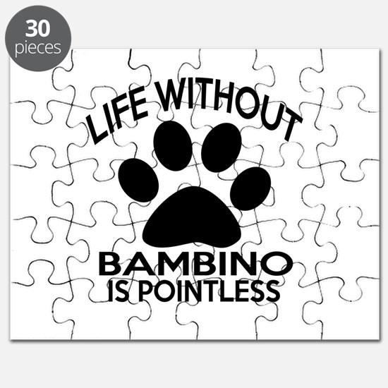 Life Without Bambino Cat Designs Puzzle