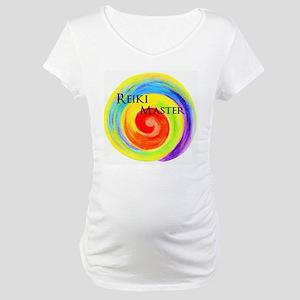 reiki symbol Reiki Master print Maternity T-Shirt