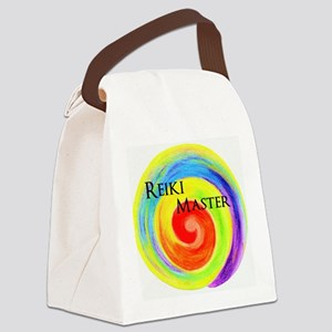 reiki symbol Reiki Master print Canvas Lunch Bag
