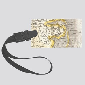 Vintage Map of The Outer Banks ( Large Luggage Tag