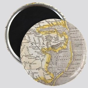 Vintage Map of The Outer Banks (1818) Magnets