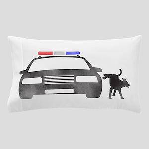 Dog vs Cop Pillow Case