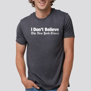 I Don't Believe The New York Times Women's Dark T-