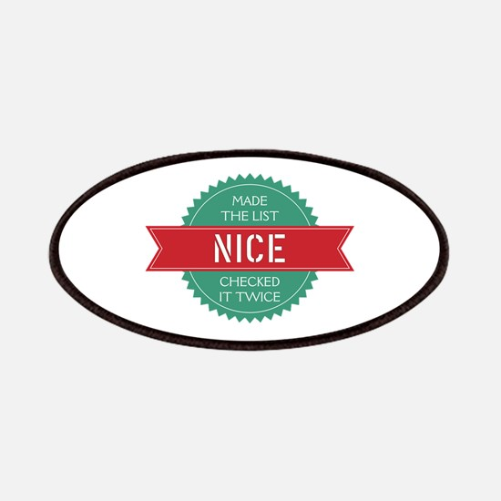 Santa's Nice List Patch