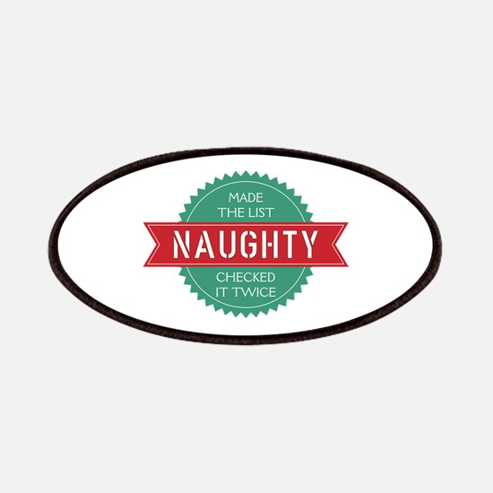Santa's Naughty List Patch