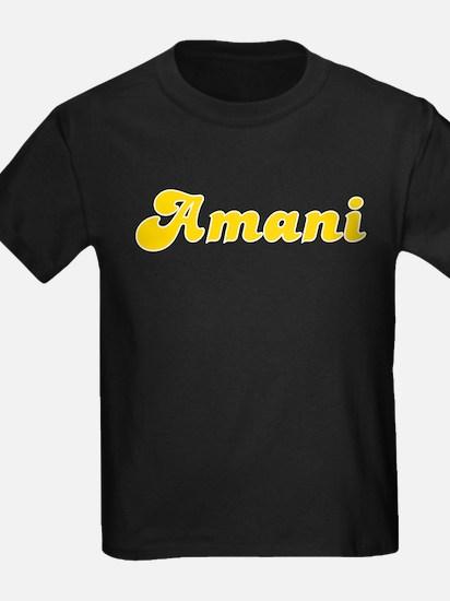 Amani Fancy (Gold) T