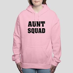 Funny aunt squad women's Women's Hooded Sweatshirt