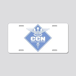 Critical Care Nurse Aluminum License Plate