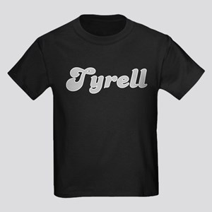 Tyrell Fancy (Silver) Kids Dark T-Shirt