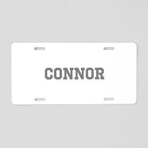CONNOR Aluminum License Plate