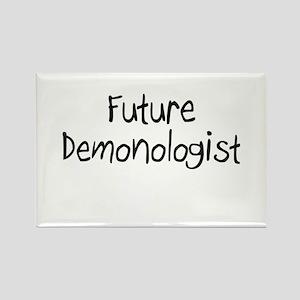 Future Demonologist Rectangle Magnet