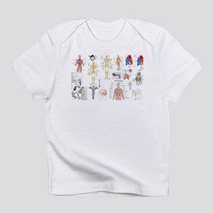 Human Anatomy Charts Infant T-Shirt