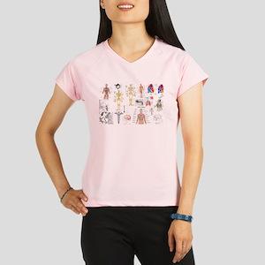 Human Anatomy Charts Performance Dry T-Shirt