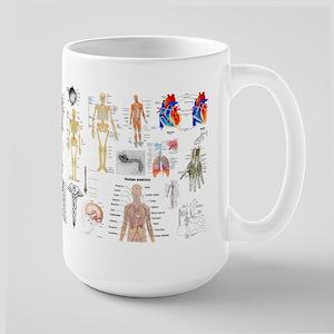 Human Anatomy Charts Mugs