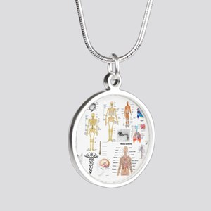 Human Anatomy Charts Necklaces