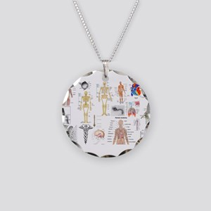 Human Anatomy Charts Necklace