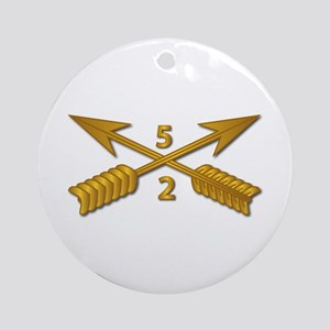 2nd Bn 5th SFG Branch wo Txt Round Ornament