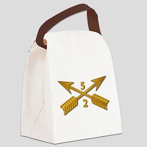 2nd Bn 5th SFG Branch wo Txt Canvas Lunch Bag