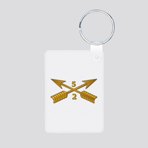 2nd Bn 5th SFG Branch wo T Aluminum Photo Keychain