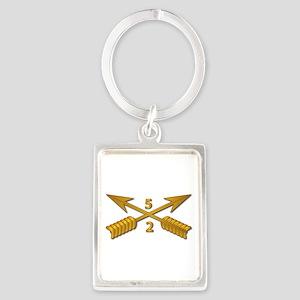 2nd Bn 5th SFG Branch wo Txt Portrait Keychain