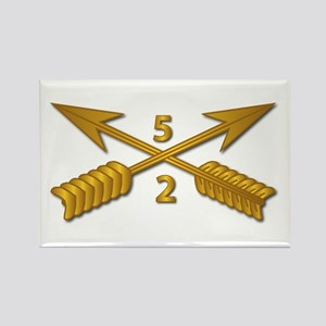 2nd Bn 5th SFG Branch wo Txt Rectangle Magnet