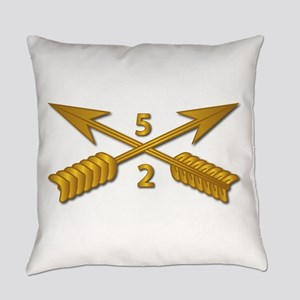 2nd Bn 5th SFG Branch wo Txt Everyday Pillow