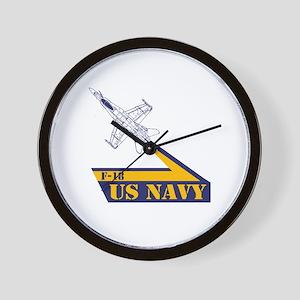 US NAVY Hornet F-18 Wall Clock