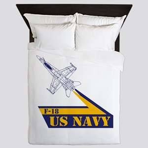 US NAVY Hornet F-18 Queen Duvet