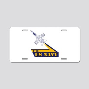 US NAVY Hornet F-18 Aluminum License Plate