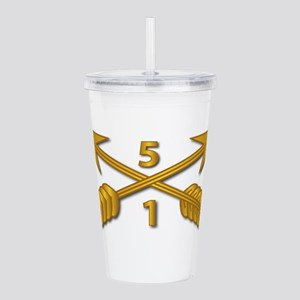 1st Bn 5th SFG Branch Acrylic Double-wall Tumbler