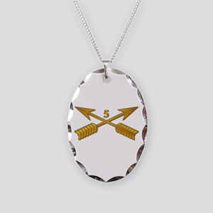 5th SFG Branch wo Txt Necklace Oval Charm