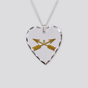 5th SFG Branch wo Txt Necklace Heart Charm