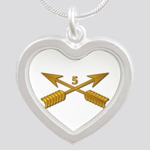 5th SFG Branch wo Txt Silver Heart Necklace