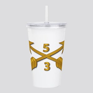 3rd Bn 5th SFG Branch Acrylic Double-wall Tumbler